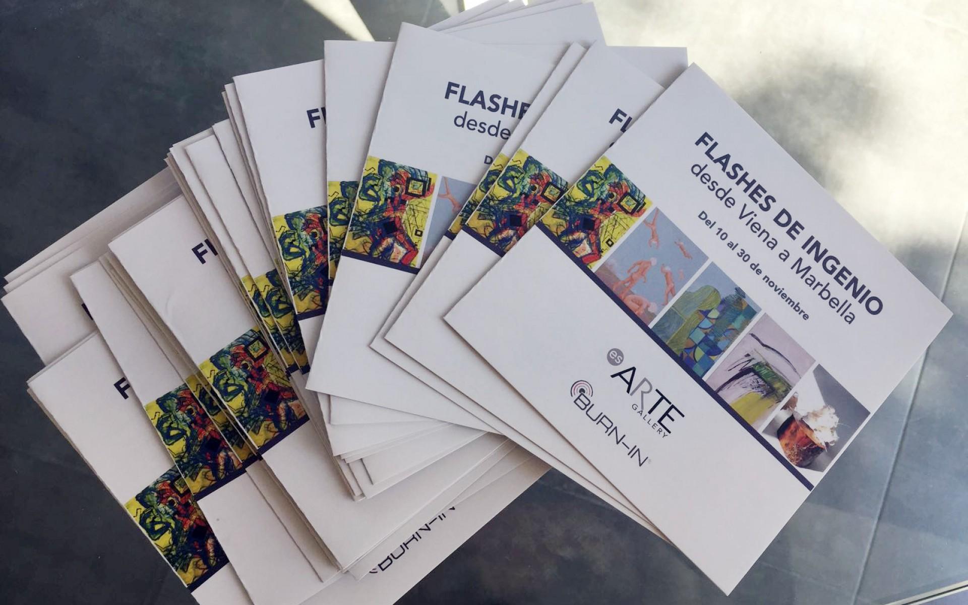 Ausstellungskatalog Flashes de Ingenio | Es.ARTE BURN-IN 112017