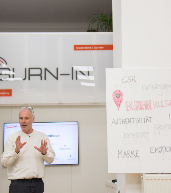 Stefan Keller, CSR Manager   BURN-IN BUSINESS CIRCLE II   Workshop BURN-IN Kultur-Koordinaten