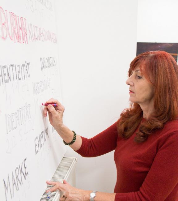 Mag. Ilse Köpke   BURN-IN BUSINESS CIRCLE II   Workshop BURN-IN Kultur-Koordinaten