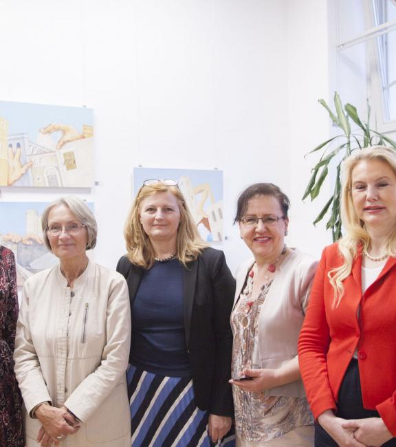 Mag. Täubel -Weinreich | Mag. Eva Pisa | Dkfm. Sonja Dolzer | Klara Kotai-Szarka | Dr. Margit Bányi