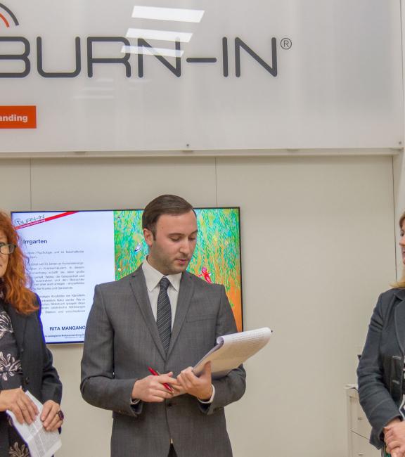 BURN-IN Ausstellung Irrgarten | Renate Polzer, Matteo Paone, Sonja Dolzer
