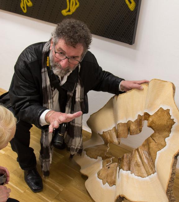 BURN-IN Ausstellung Irrgarten | Aldo Pallaro