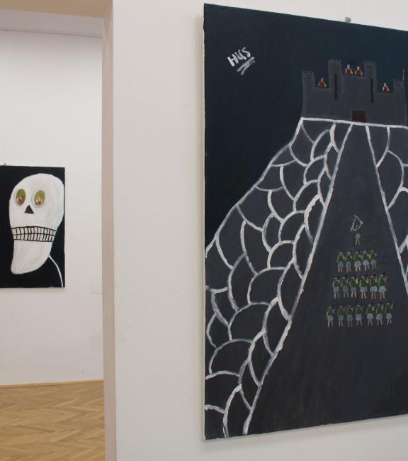 BURN-IN Ausstellung Misteria | Station 1 - 2018 - Kabbach