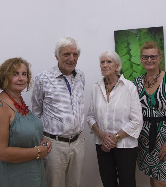 BURN-IN Prof. Renate Vergeiner, Prof. Dieter Volkmann, Heinke Lüttschwager, Dkfm. Sonja Dolzer,