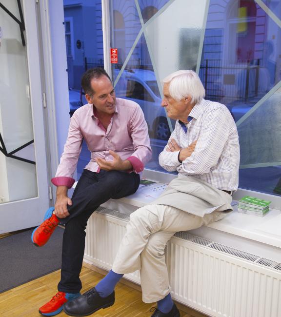BURN-IN Gast mit  Prof. Dieter Volkmann