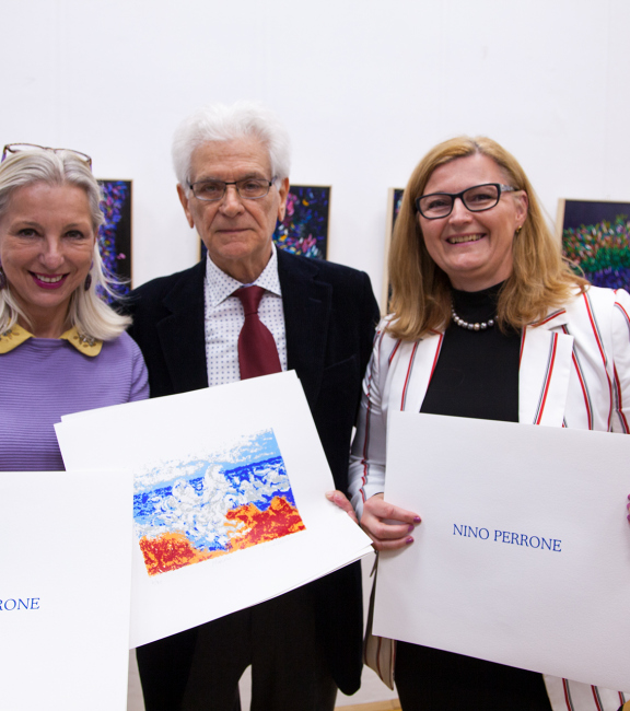 Mag. Martina Fasslabend Myki | Nino Perro | Dkfm. Sonja Dolzer BURN-IN