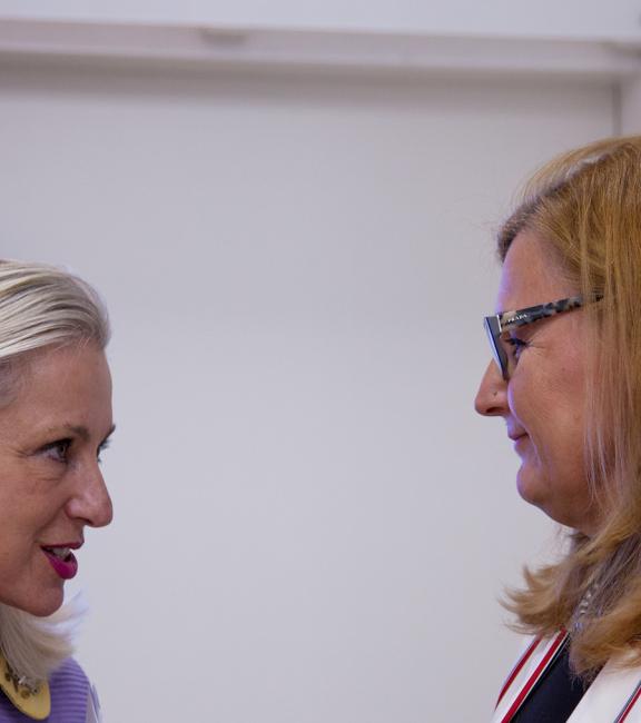Mag. Martina Fasslabend Myki | Dkfm. Sonja Dolzer BURN-IN
