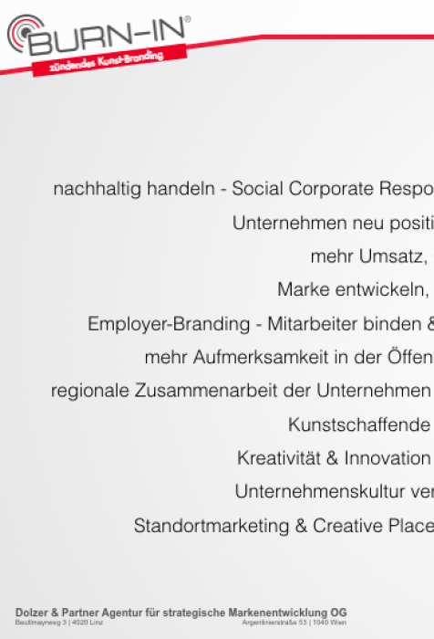 Auswertung online-Umfrage | BURN-IN BUSINESS CIRCLE II