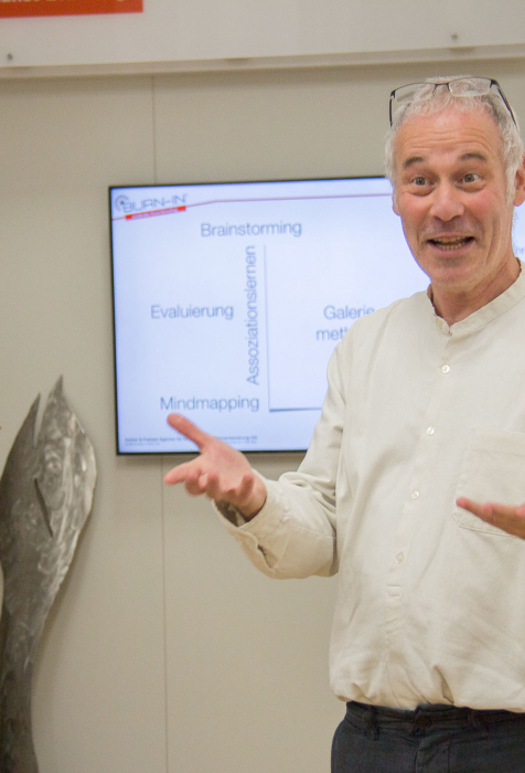 Stefan Keller, CSR Manager | BURN-IN BUSINESS CIRCLE II | Workshop BURN-IN Kultur-Koordinaten