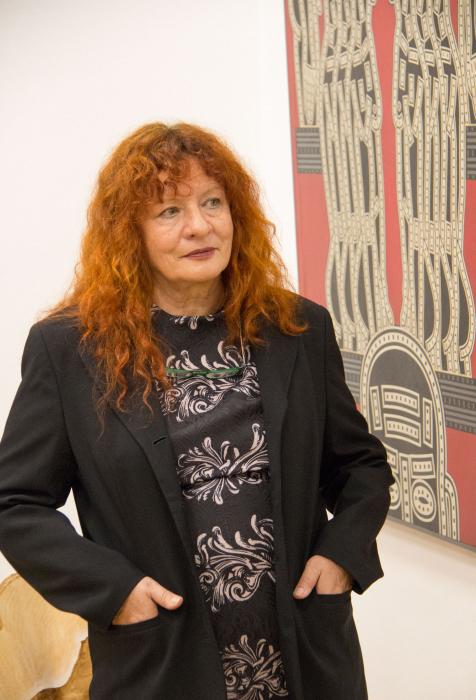 BURN-IN Ausstellung Irrgarten | Renate Polzer