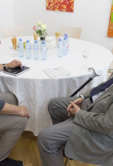 Mag. Heribert Jascha, Dr. Erhard Busek